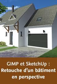 Atelier GIMP/SketchUp : Retouche d'un bâtiment en perspective