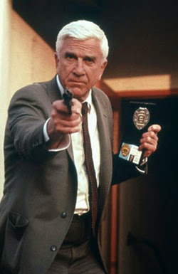Leslie Nielsen in The Naked Gun
