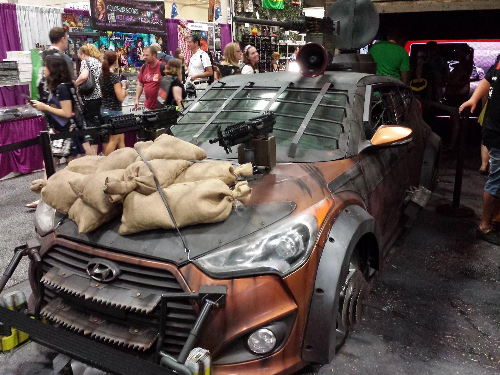 Sasaki Time Hyundai Zombie Survival Machine Revealed