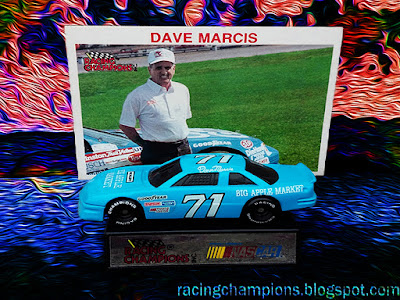 Dave Marcis #71 Big Apple Market Chevrolet Racing Champions 1/64 NASCAR diecast blog 1990 1991 1992 Winston Cup Owner Driver