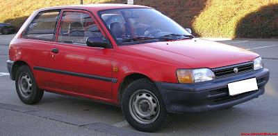 Spesifikasi Lengkap Mobil Klasik Toyota Starlet