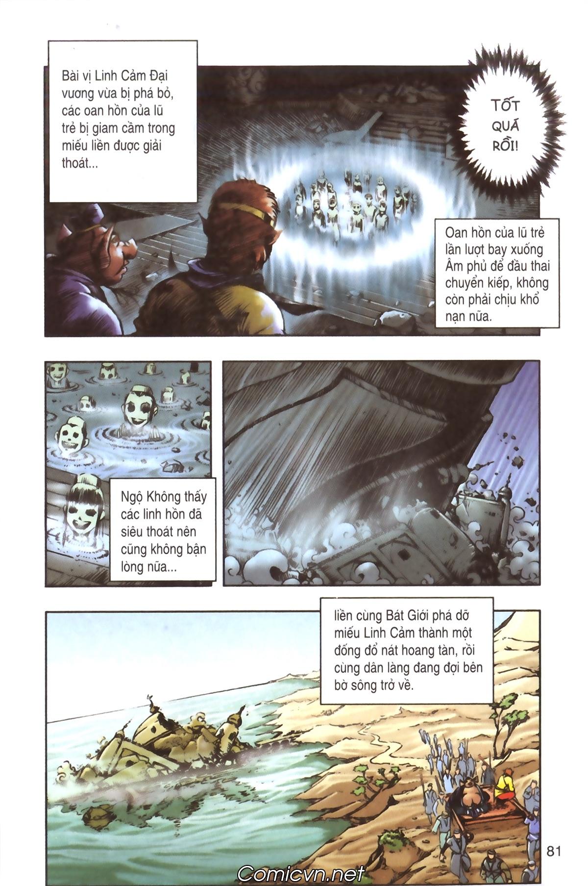 Tây Du Ký màu - Chapter 93 - Pic 18