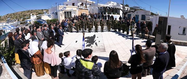 Με τη στρατιωτική παρέλαση στην Αθήνα κορυφώθηκαν οι εκδηλώσεις για την 25η Μαρτίου