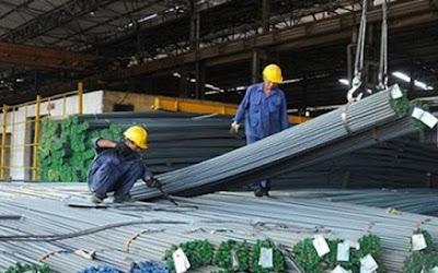 Giá thép trong nước tăng -  các thương nhân Trung Quốc tăng cường dự trữ