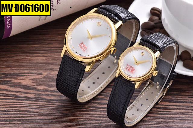 Đồng hồ dây da Movado Đ061600