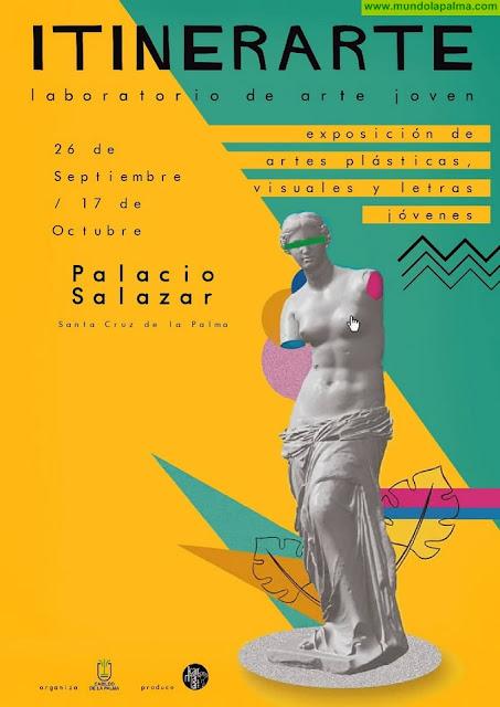 El laboratorio creativo 'Itinerarte' reúne en la Casa Salazar las propuestas de una veintena de jóvenes artistas de la isla