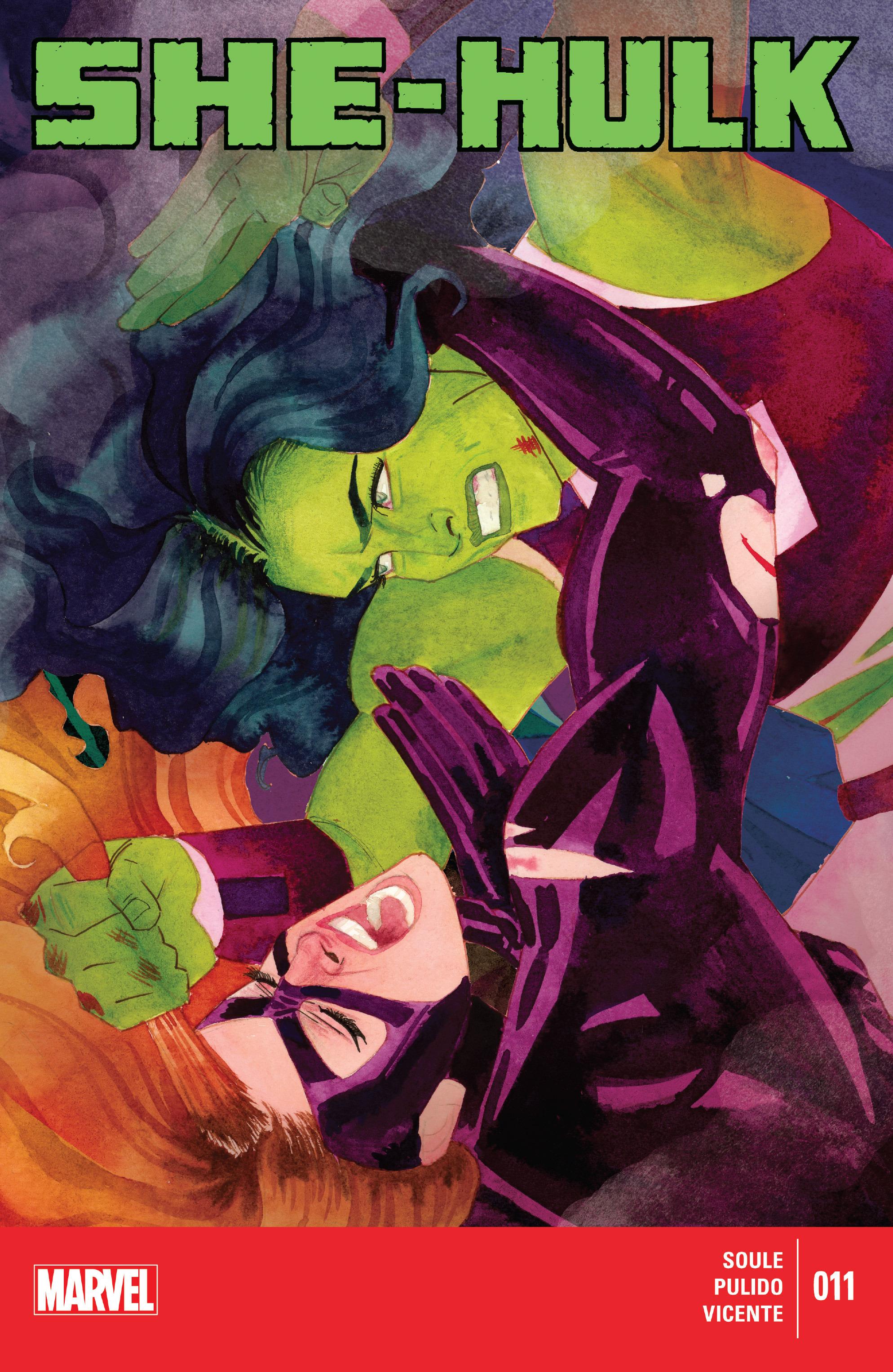 Read online She-Hulk (2014) comic -  Issue #11 - 1