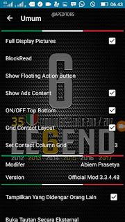 Tema BBM MOD Legend v3.3.4.48 Apk4