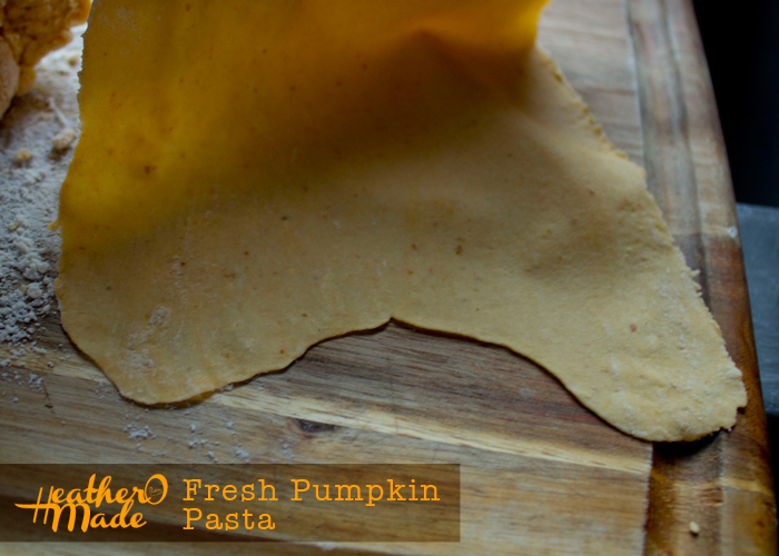 fresh pumpkin pasta recipe