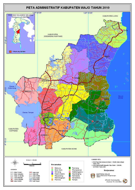 Komunitas ATLAS: Kabupaten Wajo