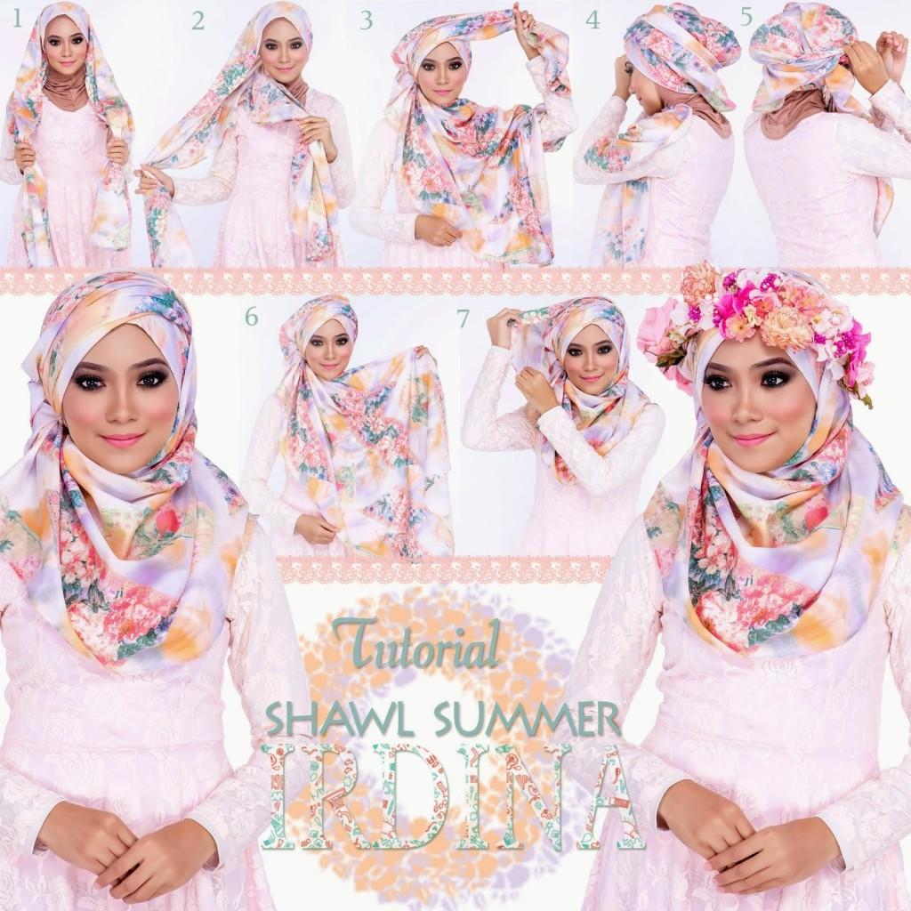 Tutorial Hijab Cantik Untuk Wajah Oval