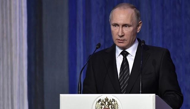 Συμφωνία για κατάπαυση του πυρός στη Συρία, ανακοίνωσε ο Βλαντίμιρ Πούτιν