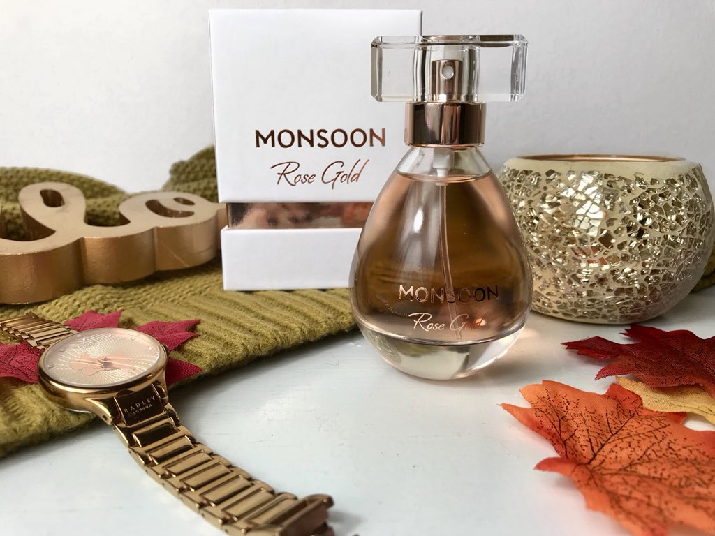 Rose Gold Monsoon Perfume