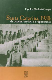 livro santa catarina 1930
