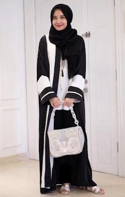 Model Baju Zaskia Sungkar Terbaru Terusan