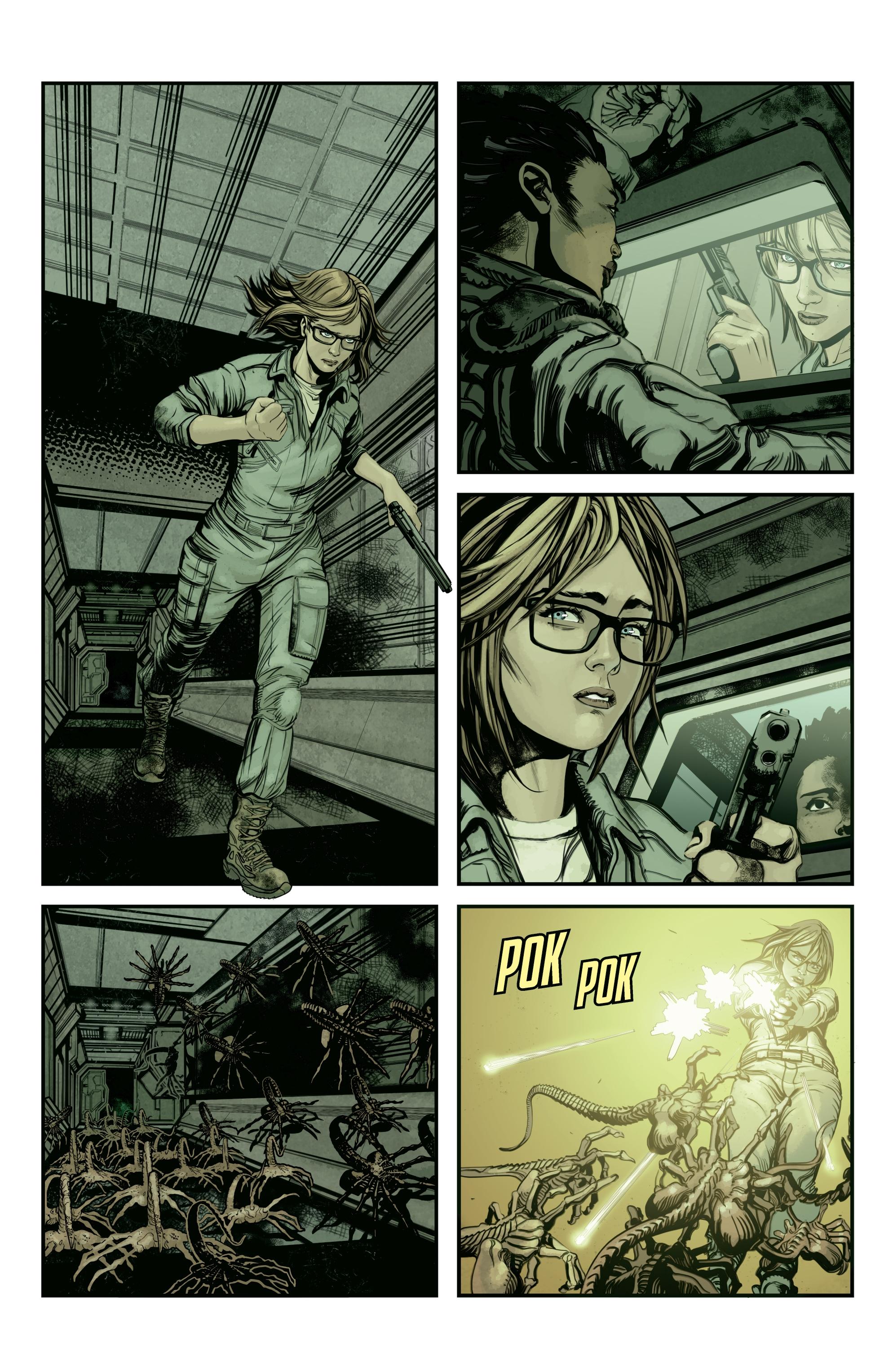 Read online Aliens: Defiance comic -  Issue #12 - 3
