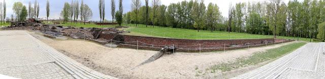 campi di concentramento di Auschwitz e Birkenau camere a gas e forni crematori
