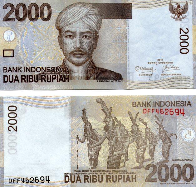 Gambar Uang Indonesia dari mas ke masa - Kumpulan Logo