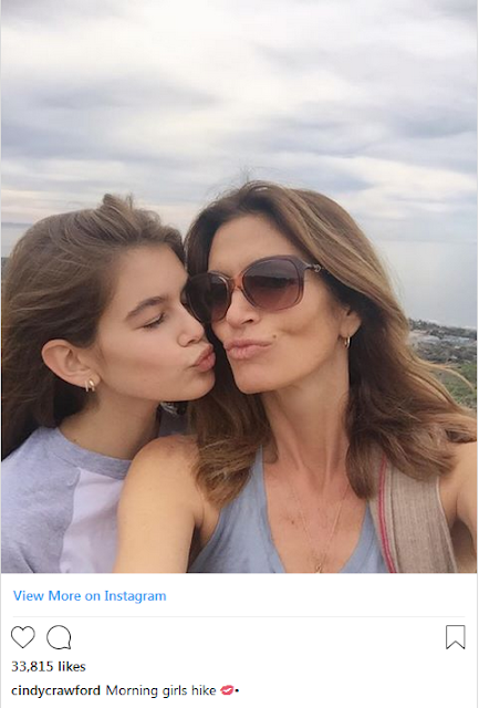 Kaia Gerber and Cindy Crawford Have Officially Perfected the Mother-Daughter Workout