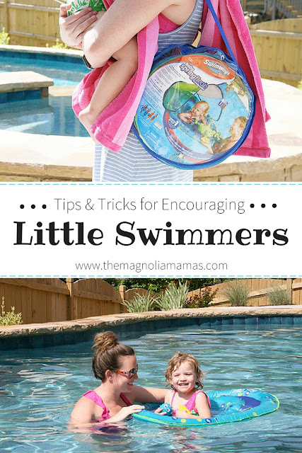 Tips and Tricks for Encouraging Little Swimmers! Love the SwimWays Baby Spring Float and how it encourages little ones to be safe and play freely in the water! Check out the amazing resources for parents and children to learn the benefits of swimming and celebrate National Learn to Swim Day! #SwimWays, #BabySpringFloat #SpringFloat #NationalLearnToSwimDay #FloatwithSwimWays #IC #ad