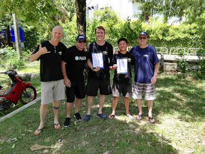 PADI IE on Phuket, Thailand for June 2017 was very successful