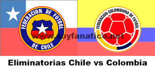 Chile vs Colombia 2016 horario