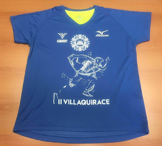 camiseta carrera villaquirace