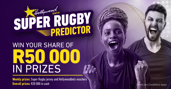 Super Rugby Predictor Game: Stand a chance to Win R50 000 in Prizes