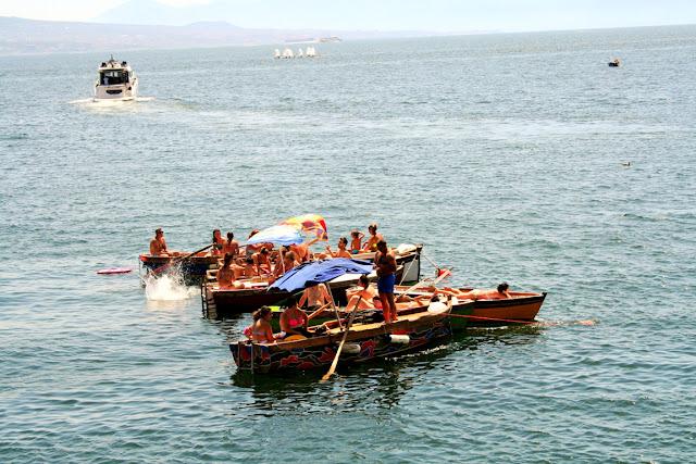 mare, barche, acqua, bagnanti, sole, vacanze