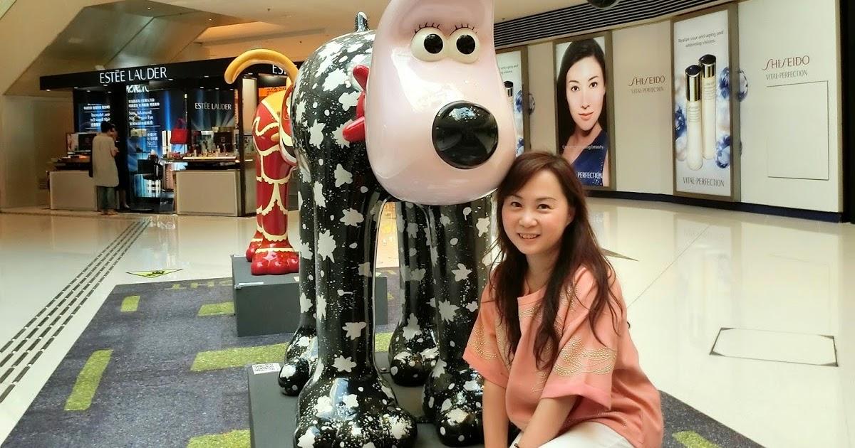 蘋果的化妝箱 by Meling Lam: 全球最矚目藝術狗展 Gromit Unleashed Hong Kong 2014:我和我設計的超級無敵掌門狗 @ Elements ...