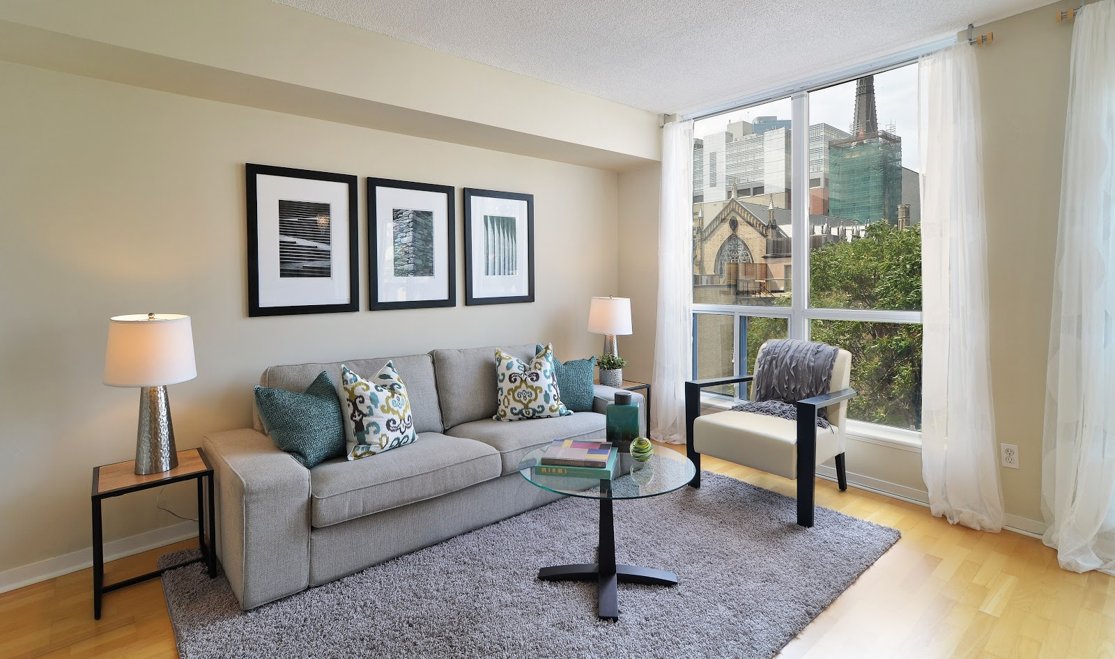 toronto condo staging and design staging tip simple window coverings