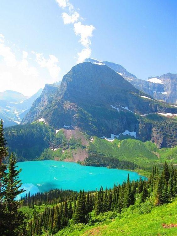Grinnell Lake, Glacier National Park – Montana, USA