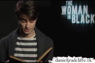 Daniel reads the winning story of the Woman in Black YouTube ghost story competition