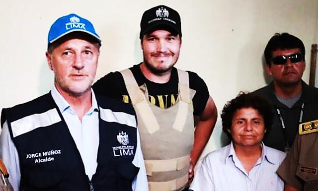 Alcalde de Lima, Jorge Muñoz y Alcalde de La Victoria, George Forsyth