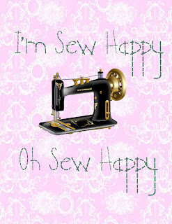 I'm Sew Happy Printable from GYCT