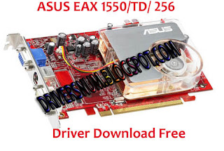 ASUS EAX1050TD256MA VGA CARD DRIVERS FOR WINDOWS