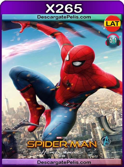 Spider-Man De regreso a casa 2017 1080P x265 Latino – Ingles