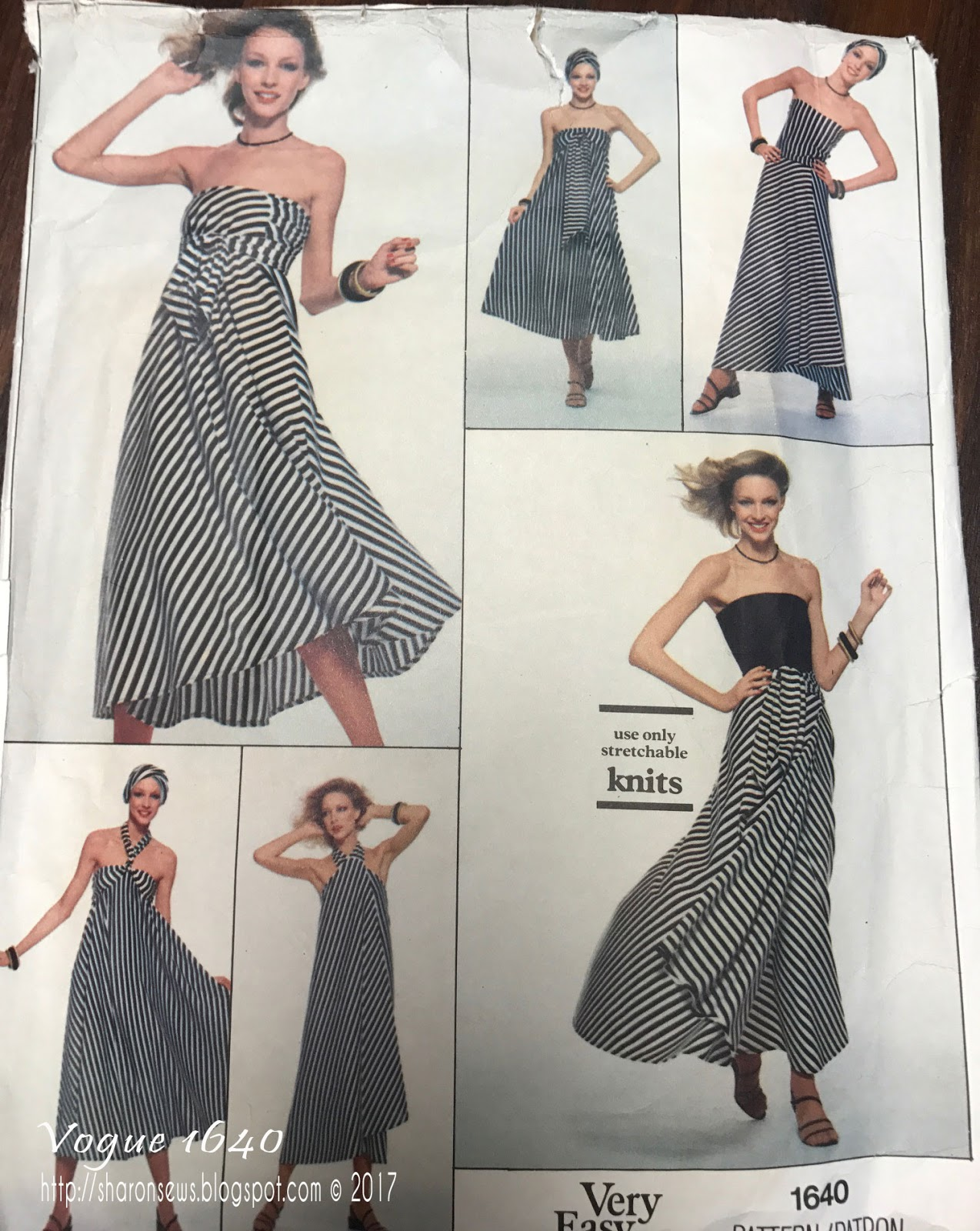 Wred Dress Or Skirt Has Attached Pleated Tie Ends Pattern Includes Instructions For Wearing As A With Bodice Tied In Variety Of Ways