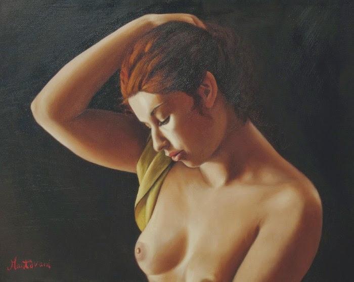 Обнаженная женская фигура. Gianulca Mantovani