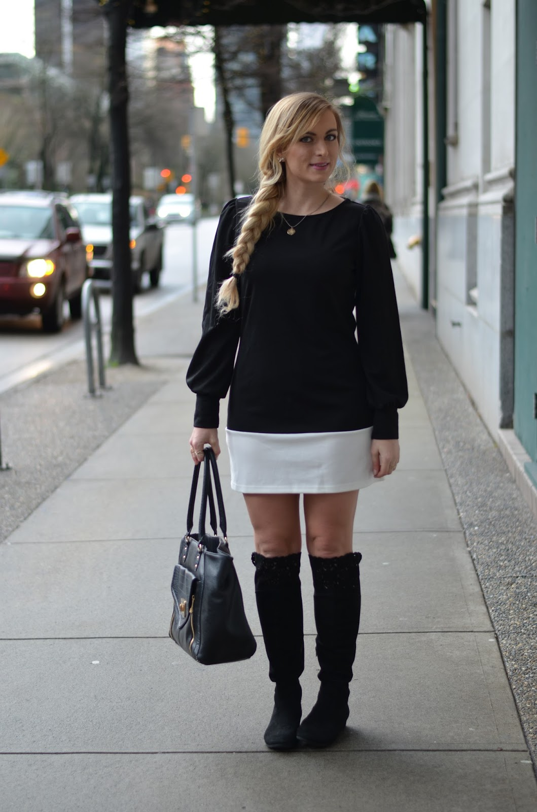 black-and-white-easy-winter-outfit