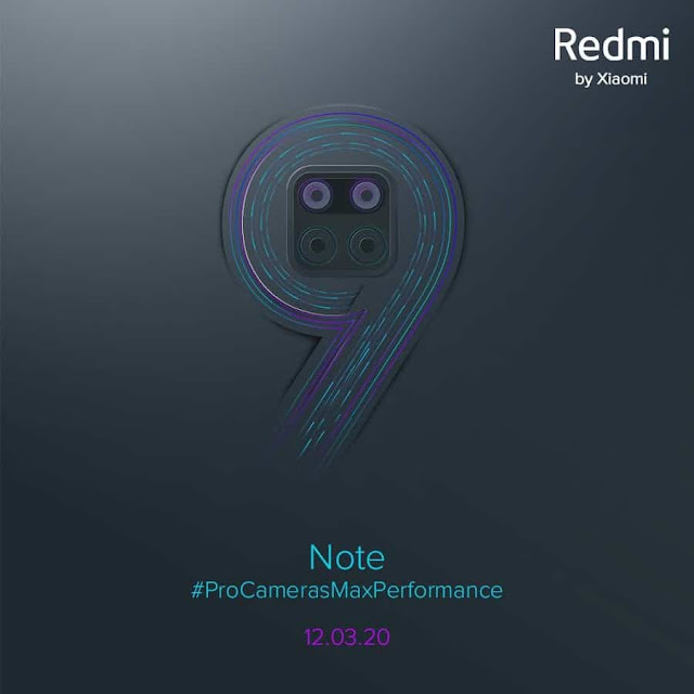 موعد اطلاق هاتف REDMI NOTE 9