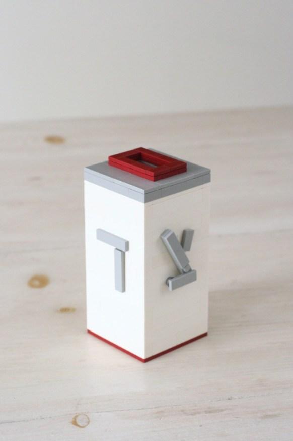 DIY Lego Tzedekah Box to teach kids about tithing   Land of Honey
