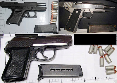 Guns Discovered At (L-R) PHX, SAT, RNO