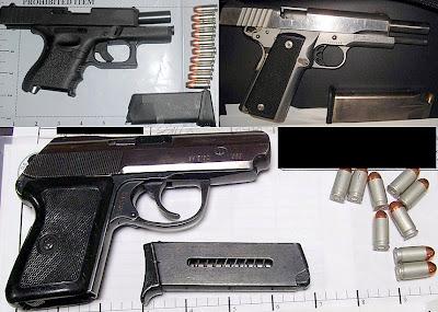 Guns Discovered At (L-R) PHX, SAT, RNO