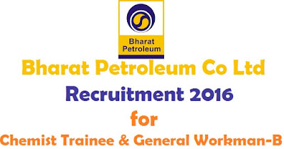 BPCL Recruitment for 69 posts