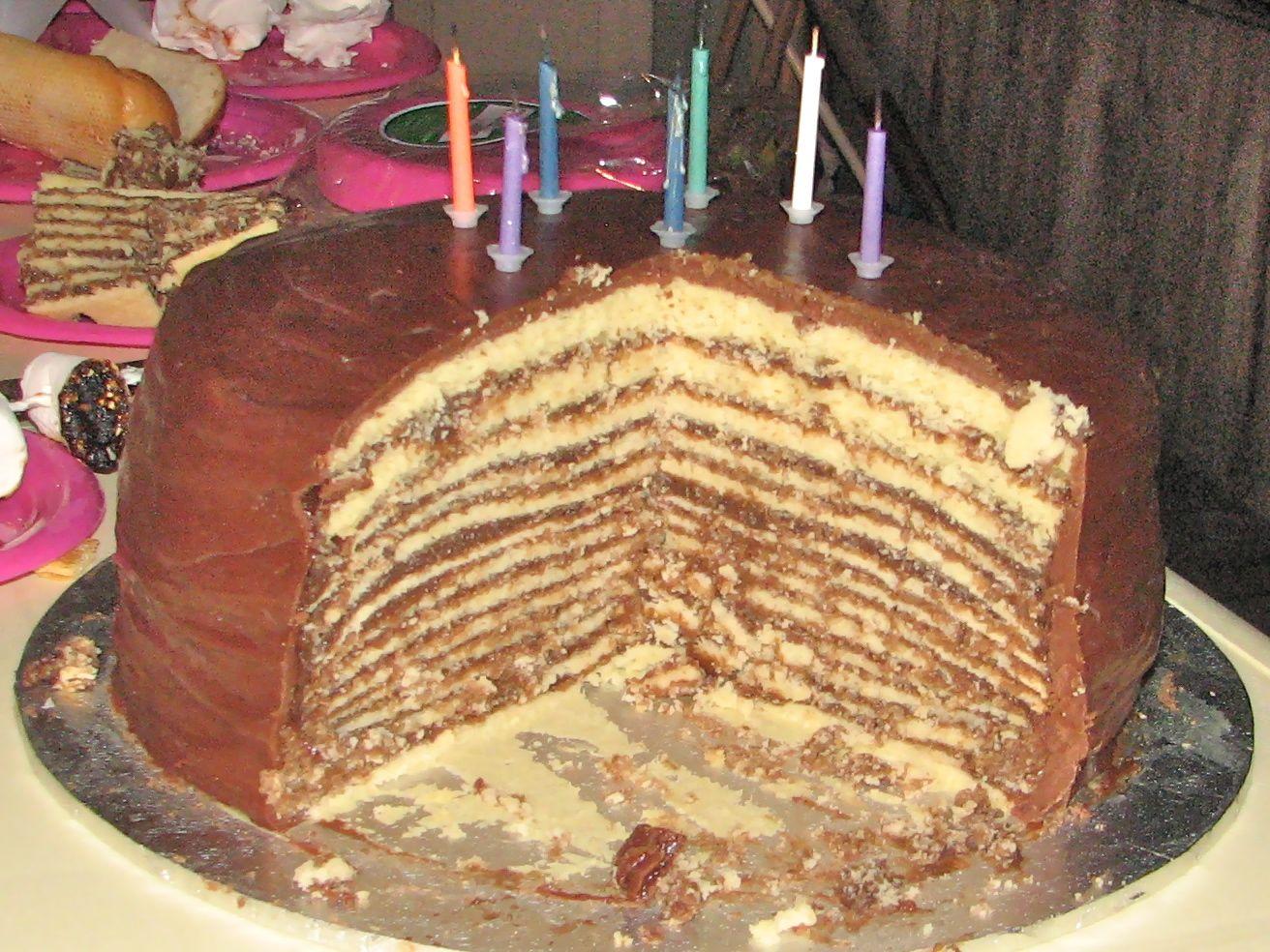 King Cake Doberge Cake Recipe