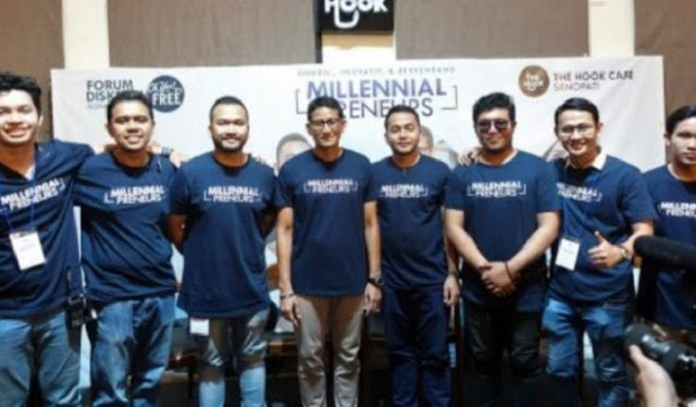 Sandi Buktikan Janji, Gandeng KOMAS Gelar 'Millennial Santripreneurship' di 10 Kota Jawa Tengah
