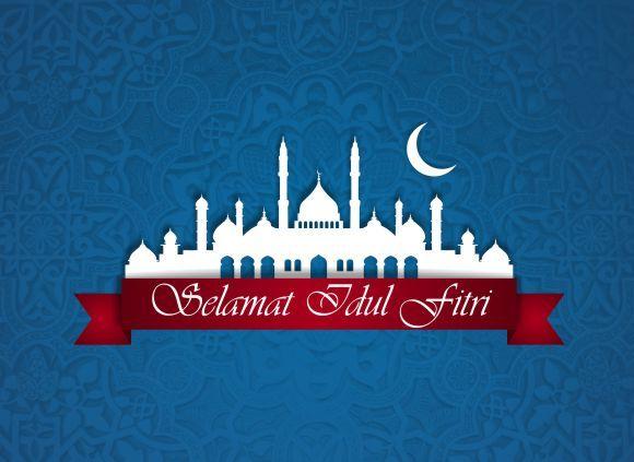 Template Kartu Ucapan Selamat Hari Raya Idul Fitri Cdr