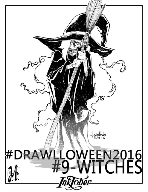 drawlloween-inktober-lucyowlart-witches