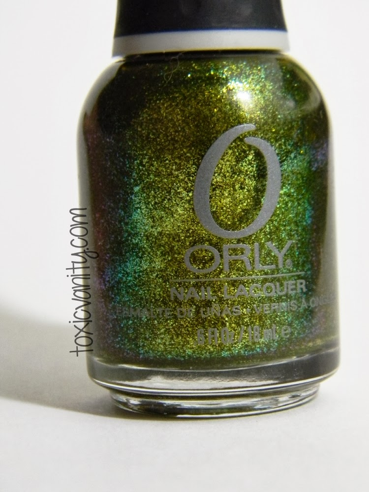 Orly - It\'s Not Rocket Science Swatches | #Usaloya - Toxic Vanity